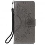 Pouzdro Xiaomi Redmi Note 10 5G / Poco M3 Pro - Mandala - šedé