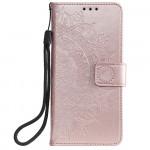 Pouzdro Xiaomi Redmi Note 10 5G / Poco M3 Pro - Mandala - světle růžové