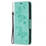 Pouzdro Xiaomi Redmi Note 10 Pro - tyrkysové motýli