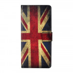 Pouzdro Xiaomi Redmi Note 10 5G / Poco M3 Pro - Britská vlajka