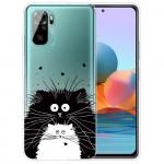 Obal Xiaomi Redmi Note 10 4G / Note 10S - průhledný - Kočky