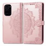 Pouzdro Xiaomi Mi 11i 5G / Poco F3 - růžové - Mandala