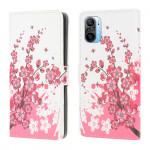 Pouzdro Xiaomi Mi 11i 5G / Poco F3 - Květy 01