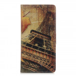 Koženkové pouzdro Alcatel 1B (2020) - Eiffelovka