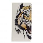 Koženkové pouzdro Alcatel 1B (2020) - Tygr