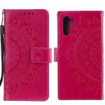 Pouzdro Galaxy A32 4G - tmavě růžové - Mandala
