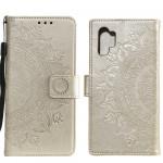 Pouzdro Galaxy A32 4G - zlaté - Mandala
