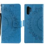 Pouzdro Galaxy A32 4G - modré - Mandala