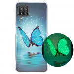 Pouzdro Galaxy A12 - Motýl 02