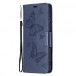 Pouzdro Galaxy A22 5G - modré - Motýli