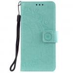 Pouzdro Motorola Moto E7 Power / E7i Power - tyrkysové - Mandala