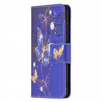 Pouzdro Galaxy A22 5G - Motýli 01