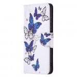 Pouzdro Galaxy A22 5G - Motýli 04