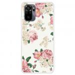 Obal Xiaomi Redmi Note 10 4G / Note 10S - Květy