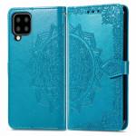 Pouzdro Galaxy A22 4G - modré - Mandala