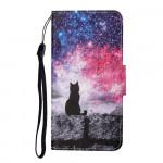 Pouzdro Galaxy A22 4G - Kočka