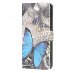 Pouzdro Galaxy A22 4G - Motýl 03