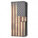 Pouzdro Galaxy A22 4G - Vlajka USA