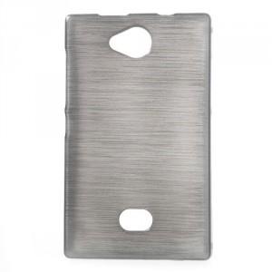 Pouzdro / Obal - Broušený vzor, šedý - Asha 503