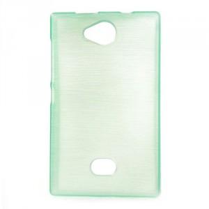 Pouzdro / Obal - Broušený vzor, zelený - Asha 503
