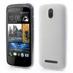 Matné pouzdro HTC Desire 500 - Bílé