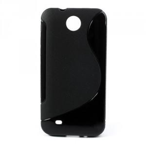 Pouzdro/Obal S Line - HTC Desire 300 - Černé