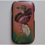 Kryt/Obal - Motýlek - Galaxy S3 Mini i8190