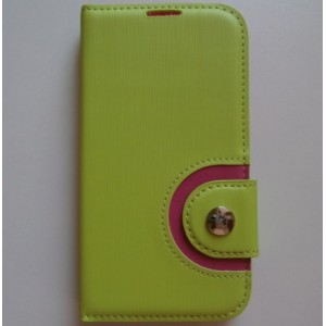 Pouzdro Wallet Baseus - Galaxy S4 i9500 - zelené/růžové