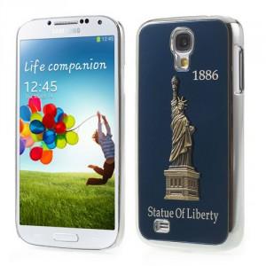 Kryt/Obal Galaxy S4 i9500 - Socha svobody - modrá