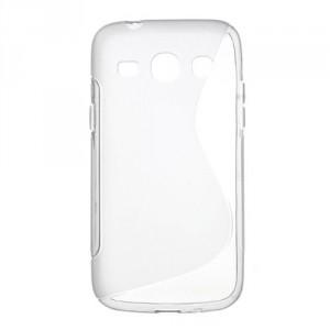 Pouzdro / Obal S Line - Šedý - Galaxy Core Plus
