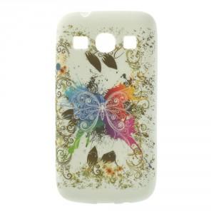 Pouzdro / Obal - Motýli 01 - Galaxy Core Plus