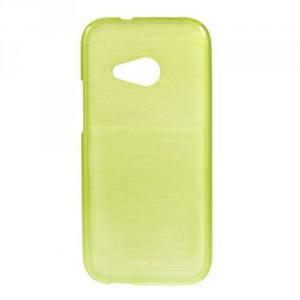 Pouzdro/Obal Broušený vzor, žlutozelený - HTC One Mini 2