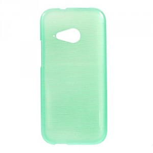 Pouzdro/Obal Broušený vzor, zelený - HTC One Mini 2