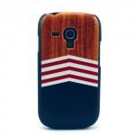 Zadní kryt / Obal Pruhy - Galaxy S3 Mini i8190