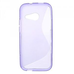 Pouzdro / Obal S Line, fialový - HTC One Mini 2