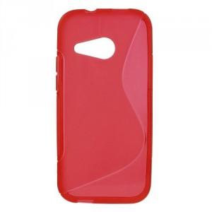Pouzdro / Obal S Line, červený - HTC One Mini 2