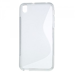 Pouzdro / Obal S-Line, šedý - HTC Desire 816