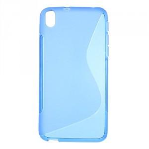 Pouzdro / Obal S-Line, modrý - HTC Desire 816