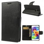 Pouzdro Sonata Diary Galaxy S5 i9600 - černé