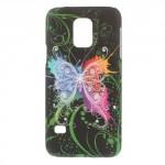 Zadní kryt / Obal Motýli 03 - Galaxy S5 Mini G800