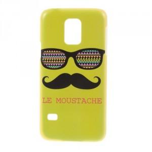 Zadní kryt / Obal Moustache 02 - Galaxy S5 Mini G800