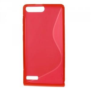 Pouzdro S-Line - Červené - Ascend G6 LTE