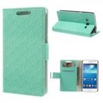 Pouzdro Wallet tyrkysové vzorované - Galaxy Express 2
