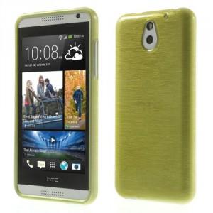 Pouzdro / Obal Broušený vzor, žlutozelený - HTC Desire 610