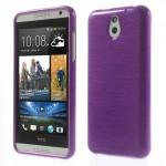 Pouzdro / Obal Broušený vzor, fialový - HTC Desire 610