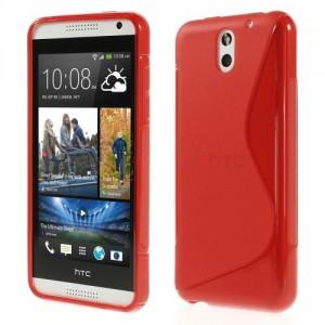 Pouzdro / Obal S-Curve - HTC Desire 610 - Červené