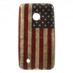 Pouzdro / Obal - Vlajka USA Vintage - Lumia 530