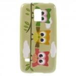Pouzdro / Obal - Sovy 03 - Galaxy S5 Mini G800