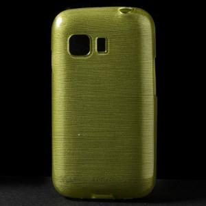 Pouzdro / Obal - Broušený vzor, žlutozelený - Galaxy Young 2