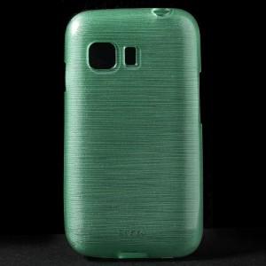 Pouzdro / Obal - Broušený vzor, zelený - Galaxy Young 2